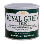 Royal Green Silk